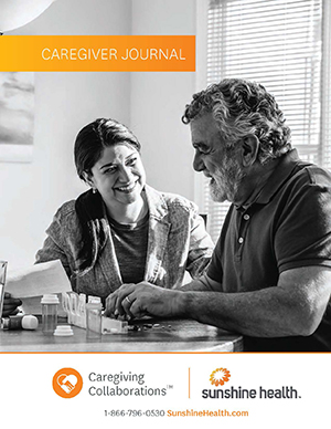 caregiver journal cover