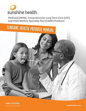 Manuals Forms And Resources Sunshine Health