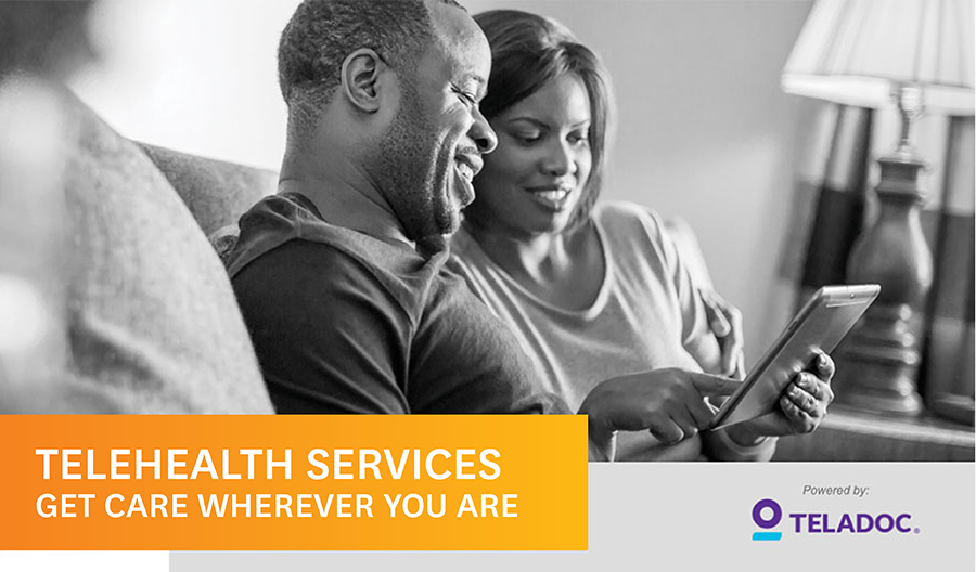 TeleHealth Services. Get care wherever you are.